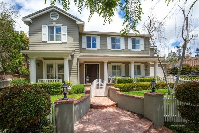 Encinitas CA Single Family Home For Sale: $1,695,000