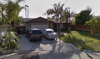 Vista Single Family Home For Sale: 722 La Vida Circle