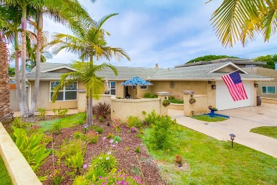 Carlsbad Single Family Home For Sale: 3751 Yvette Way