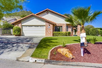Riverside County, San Diego County Single Family Home For Sale: 24503 Novato Place