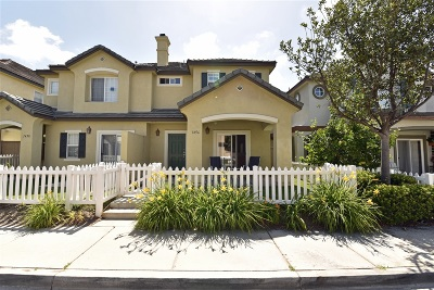 Chula Vista Townhouse For Sale: 1456 Normandy Dr