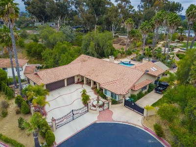 Bonita Single Family Home For Sale: 3672 Valley Rd