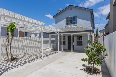 San Diego Single Family Home For Sale: 3140 Franklin Ave