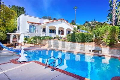 La Mesa Single Family Home For Sale: 9430 Mesa Vista Avenue