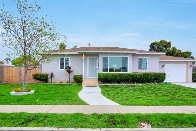Chula Vista CA Single Family Home For Sale: $520,000