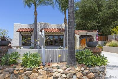Escondido Single Family Home For Sale: 538 E 9th Ave