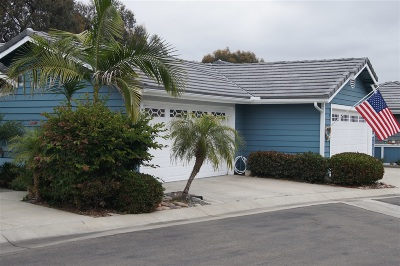 Encinitas Townhouse For Sale: 582 Summer View Cir