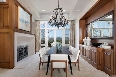 Rancho Santa Fe Single Family Home For Sale: 14488 Strawberry Road