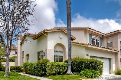 Carlsbad Townhouse For Sale: 1662 Chamisal Ct.