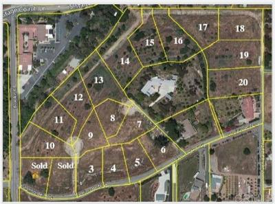 Fallbrook Residential Lots & Land For Sale: 003-020 Camino De Nog #3-20