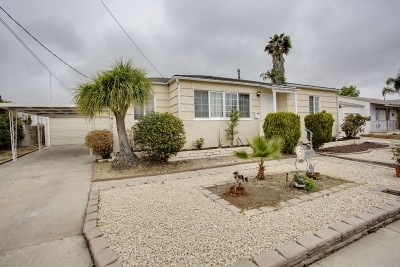 San Diego Single Family Home For Sale: 2140 Fieger St