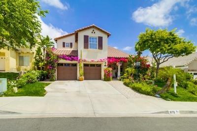 Chula Vista CA Single Family Home For Sale: $749,000