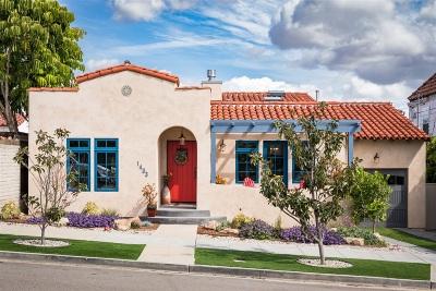 Coronado Single Family Home For Sale: 1433 7th Street