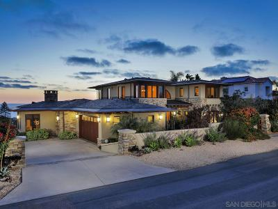 Solana Beach Single Family Home For Sale: 459 Marview Drive