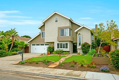 Encinitas Single Family Home For Sale: 1540 Shields Ave