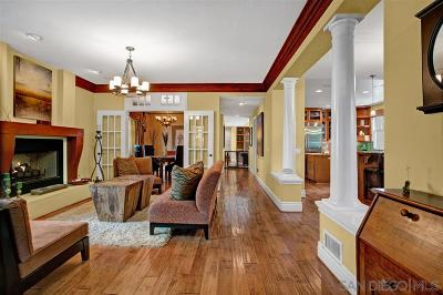 Bankers Hill Single Family Home For Sale: 3535 Front
