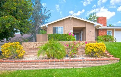 Escondido CA Single Family Home For Sale: $554,900