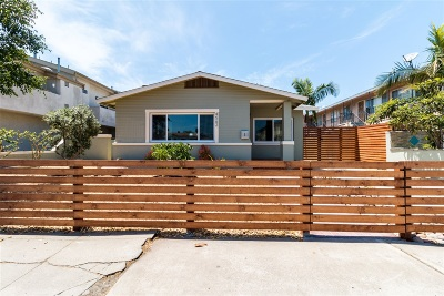 Normal Heights Single Family Home For Sale: 4562 34th St
