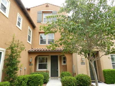 San Diego Townhouse For Sale: 17022 Calle Trevino #3