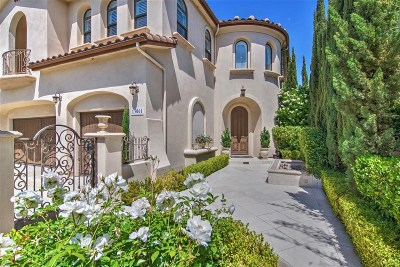 San Diego Single Family Home For Sale: 13061 Sunset Point Place
