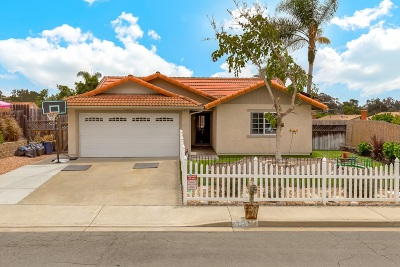 Oceanside Single Family Home For Sale: 1470 Mountain Meadow Dr