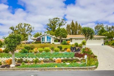 Poway Single Family Home For Sale: 16433 Bronco Lane