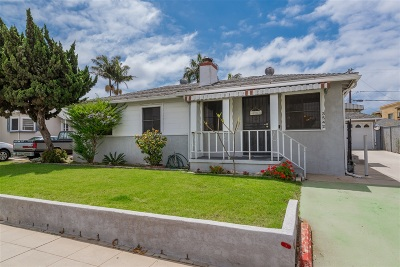 San Diego Single Family Home For Sale: 3542 Ingraham St