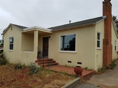 Escondido CA Single Family Home For Sale: $379,000