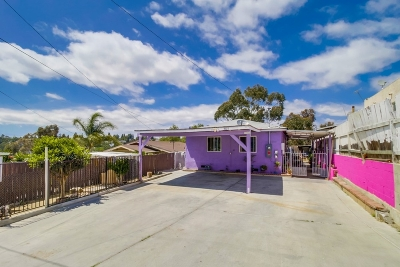 San Diego Single Family Home For Sale: 3927 B St