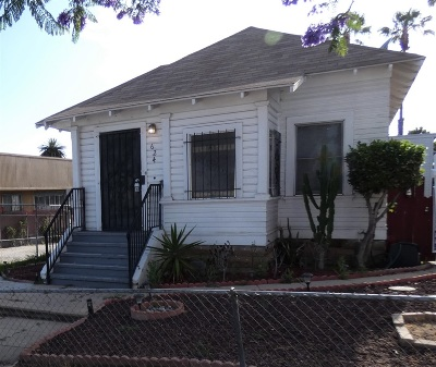 San Diego Single Family Home For Sale: 624 25th St