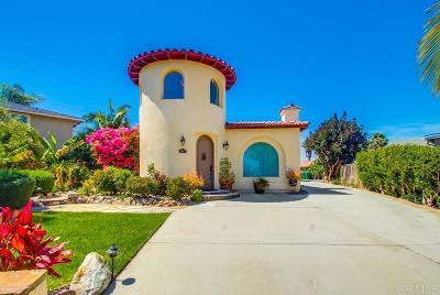 Carlsabd, Carlsbad Single Family Home For Sale: 4916 Park Court