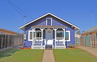 Single Family Home For Sale: 1123 Hoover Ave