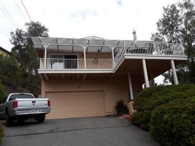 La Mesa Single Family Home For Sale: 10160 Vista De La Cruz
