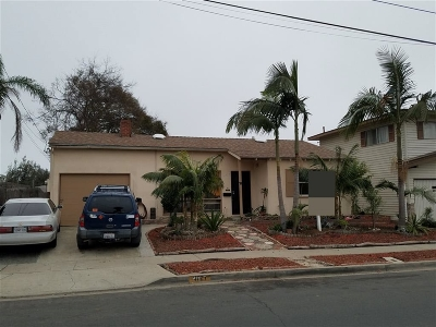 San Diego Single Family Home For Sale: 4927 Jumano