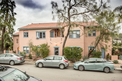 Hillcrest Multi Family 2-4 For Sale: 3605-13 Wilshire Terrace