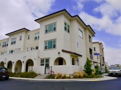 San Diego Townhouse For Sale: 1251 Paseo Sea Breeze #20