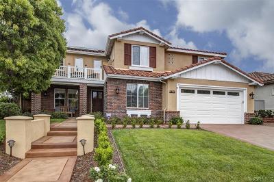 La Costa Valley Single Family Home For Sale: 2872 Vista Acedera