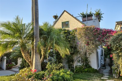 Del Mar Single Family Home For Sale: 144 10th St