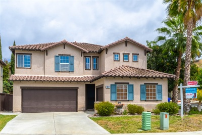 Oceanside Single Family Home For Sale: 252 Azul Way