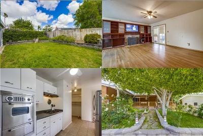 San Diego Single Family Home For Sale: 1321 Braddock Street