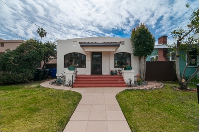 San Diego Single Family Home For Sale: 2229 Cliff