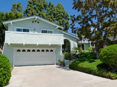 Carlsbad, Carlsabd Single Family Home For Sale: 4806 Refugio Ave