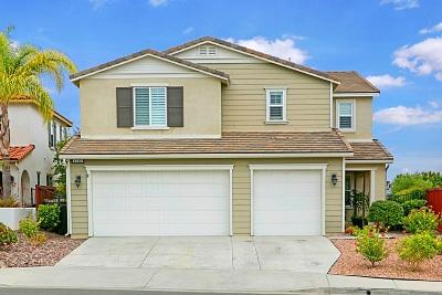 Oceanside Single Family Home For Sale: 1312 Bellingham Dr.