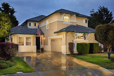 Carlsbad Single Family Home Sold: 3915 Rockfield Ct