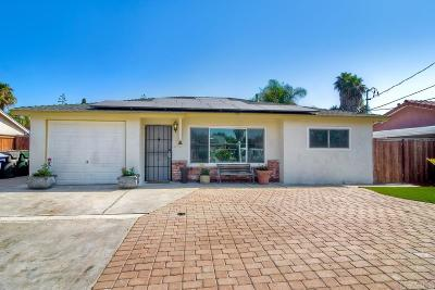 San Marcos Single Family Home For Sale: 3834 La Rosa