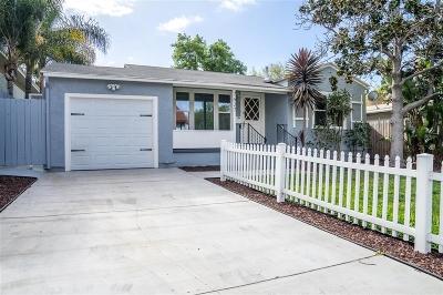 La Mesa Single Family Home For Sale: 7627 Normal Ave