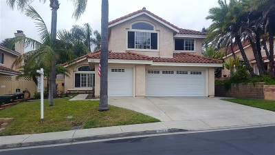Vista Single Family Home For Sale: 1681 Marbella Dr