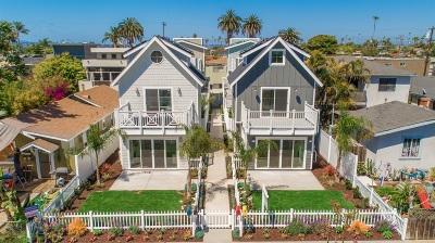 Ocean Beach Multi Family 2-4 For Sale: 4950 - 4956 Saratoga Ave.