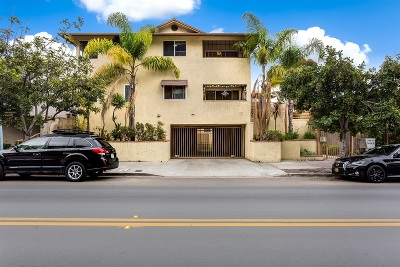 San Diego Attached Sold: 3759 Florida St. #6C