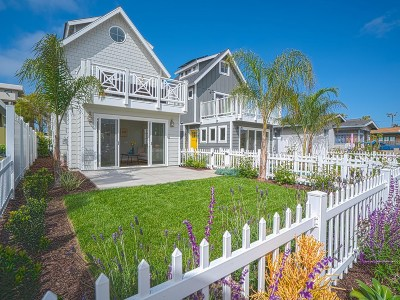 Ocean Beach Single Family Home For Sale: 4956 Saratoga Ave